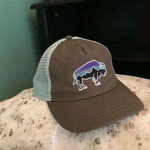 Patagonia Womens Fitz Roy Bison Trucker Hat